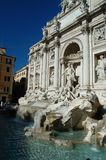 Trevi Fountain Rome Stock Image