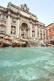 Trevi fountain Rome Stock Image