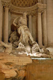 The Trevi Fountain, Rome Stock Photo