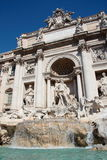 Trevi Fountain in Rome. The famous Trevi Fountain in Rome - Italy Royalty Free Stock Photography