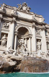 Trevi Fountain in Rome Royalty Free Stock Photos