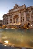 Trevi Fountain Rome. The Trevi Fountain Rome at dusk Royalty Free Stock Photo