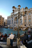 Trevi Fountain Rome. The Trevi Fountain in Rome Royalty Free Stock Image