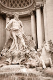 Trevi fountain, Rome Royalty Free Stock Photography