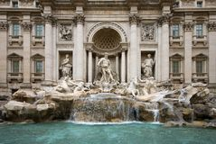 The Trevi Fountain - Rome Royalty Free Stock Image