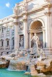 Trevi Fountain in Rome city, Italy Royalty Free Stock Photo