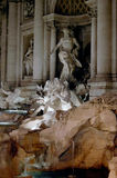 Trevi Fountain, Rome Detail Royalty Free Stock Images
