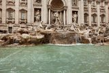 Trevi Fountain Rome Royalty Free Stock Photo