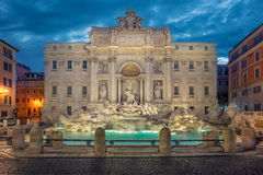 Trevi Fountain, Rome. Royalty Free Stock Images