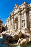 Trevi Fountain, rome, Italy. Stock Image