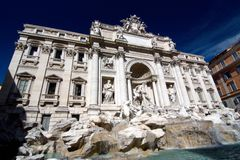 Trevi Fountain in Rome, Italy Royalty Free Stock Photography