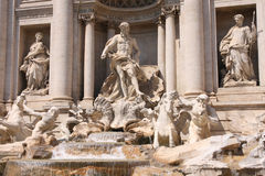 The Trevi Fountain in Rome, Italy Royalty Free Stock Photography