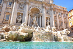 Trevi Fountain, Rome, Italy Royalty Free Stock Photography