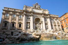 Trevi fountain in Rome, Italy Royalty Free Stock Images