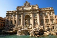 Trevi fountain in Rome, Italy Royalty Free Stock Photos