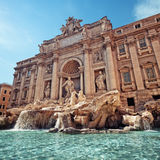 Trevi Fountain, Rome - Italy Stock Photos