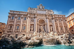 Trevi Fountain, Rome - Italy Stock Photography