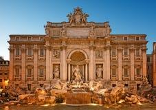 Trevi Fountain, Rome - Italy Stock Photos