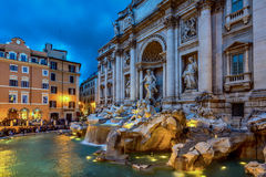 The Trevi Fountain, Rome Royalty Free Stock Images