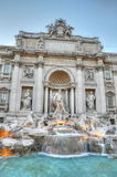 Trevi fountain in Rome Stock Image