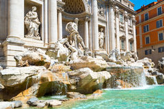 Trevi Fountain in Rome Stock Photography