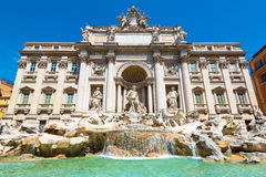 Trevi Fountain in Rome Royalty Free Stock Photo
