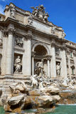 Trevi Fountain in Rome, Italy Stock Images