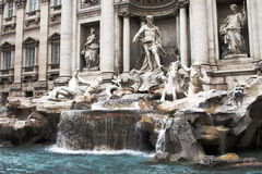 Trevi Fountain In Rome, Italy Stock Image