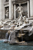 Trevi Fountain In Rome, Italy. Trevi Fountain - The Most Ambitious Of The Baroque Fountains Of Rome, Italy royalty free stock photography