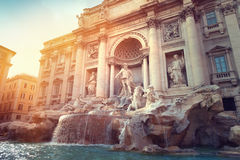 Trevi Fountain, Rome Royalty Free Stock Image