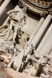 Trevi fountain, Rome, Italy Stock Image