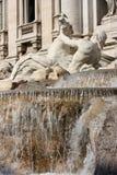 Trevi fountain, Rome, Italy Royalty Free Stock Photo