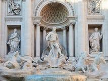 Trevi Fountain Rome Italy. Trevi Fountain in Rome Italy Stock Photography