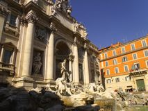 Trevi Fountain Royalty Free Stock Photography