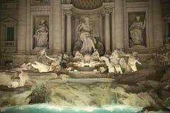Trevi Fountain Rome Italy Stock Photo