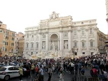 Trevi Fountain Rome Italy stock photo