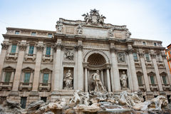 The Trevi Fountain, Rome, Italy Stock Images