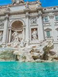 Trevi Fountain in Rome, Italy. Royalty Free Stock Photo