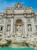 Trevi Fountain in Rome, Italy. Royalty Free Stock Images