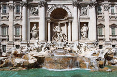 Trevi Fountain, Rome, Italy Royalty Free Stock Images