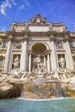Trevi Fountain, Rome, Italy. Trevi Fountain (Fontana di Trevi) in the Trevi Rione in Rome, Italy royalty free stock images