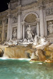 Trevi Fountain in Rome - Italy. Fontana di Trevi Stock Photography