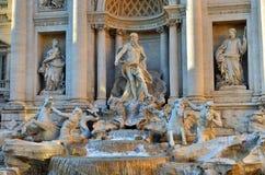 Trevi Fountain, Rome. Italy Stock Photography