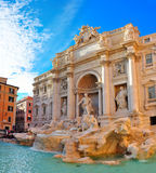 Trevi Fountain, Rome Italy Stock Photo