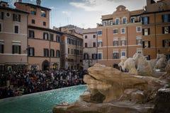 Trevi Fountain Royalty Free Stock Image
