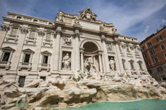 Trevi Fountain in Rome, Italy. Stock Image