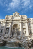 Trevi Fountain in Rome, Italy. View of the Trevi Fountain in Rome, Italy Stock Photos