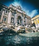 Trevi Fountain, Rome - Italy Stock Photo