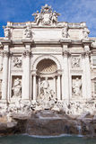 Trevi Fountain in Rome, Italy Royalty Free Stock Photos
