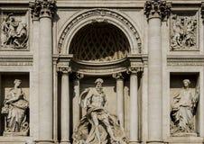 Trevi Fountain in Rome Royalty Free Stock Photos